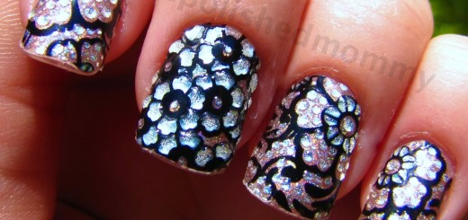 nail sticker holo 3