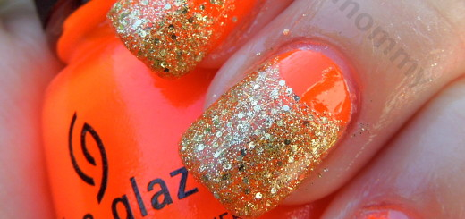 china glaze orange knockout and blonde bombshell 3