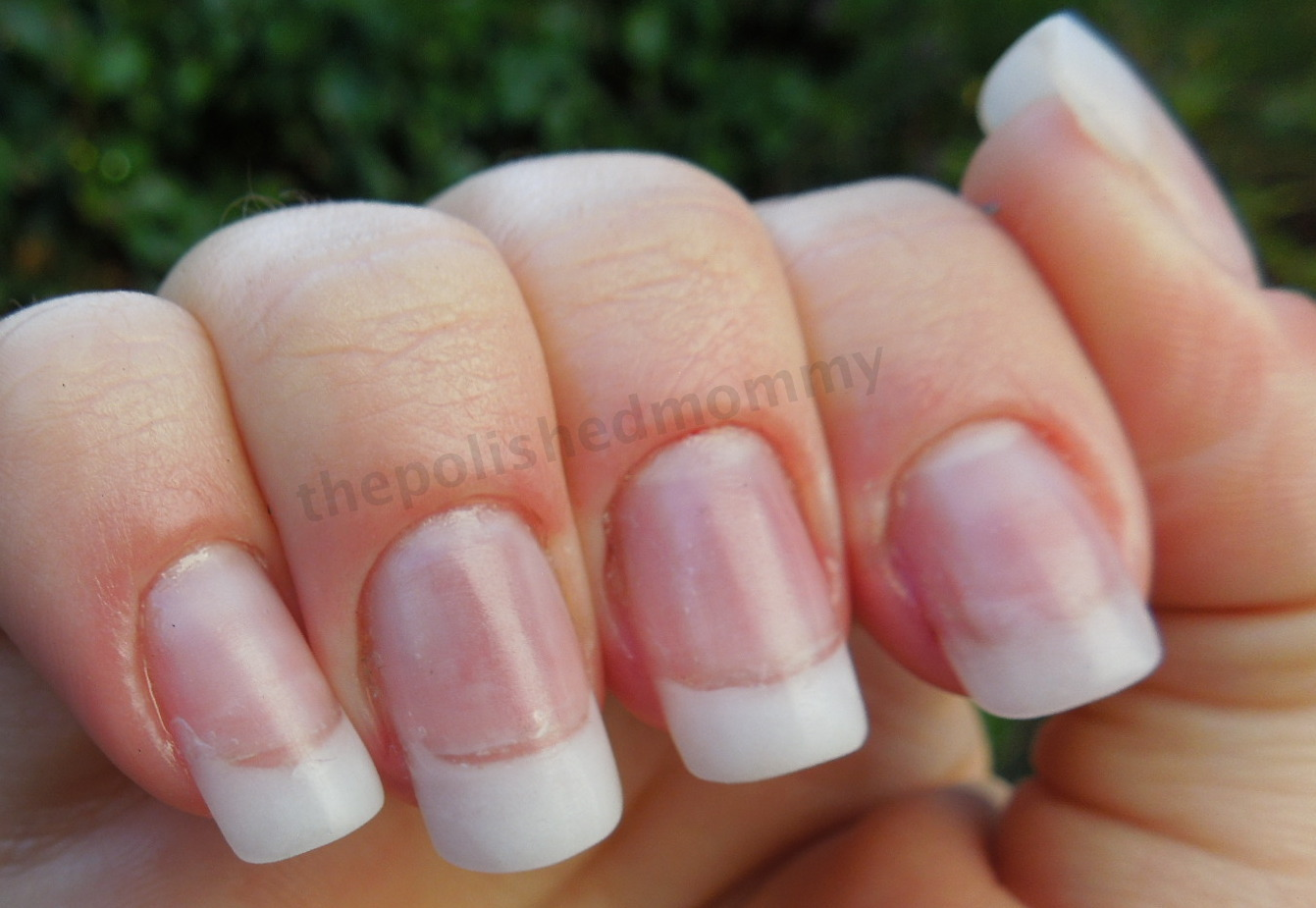 Adding Length to Your Natural Nail Using Dual Forms and Hard Gel ...
