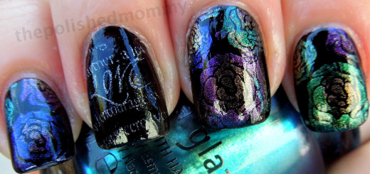 china glaze bohemian BM311 and 323-001