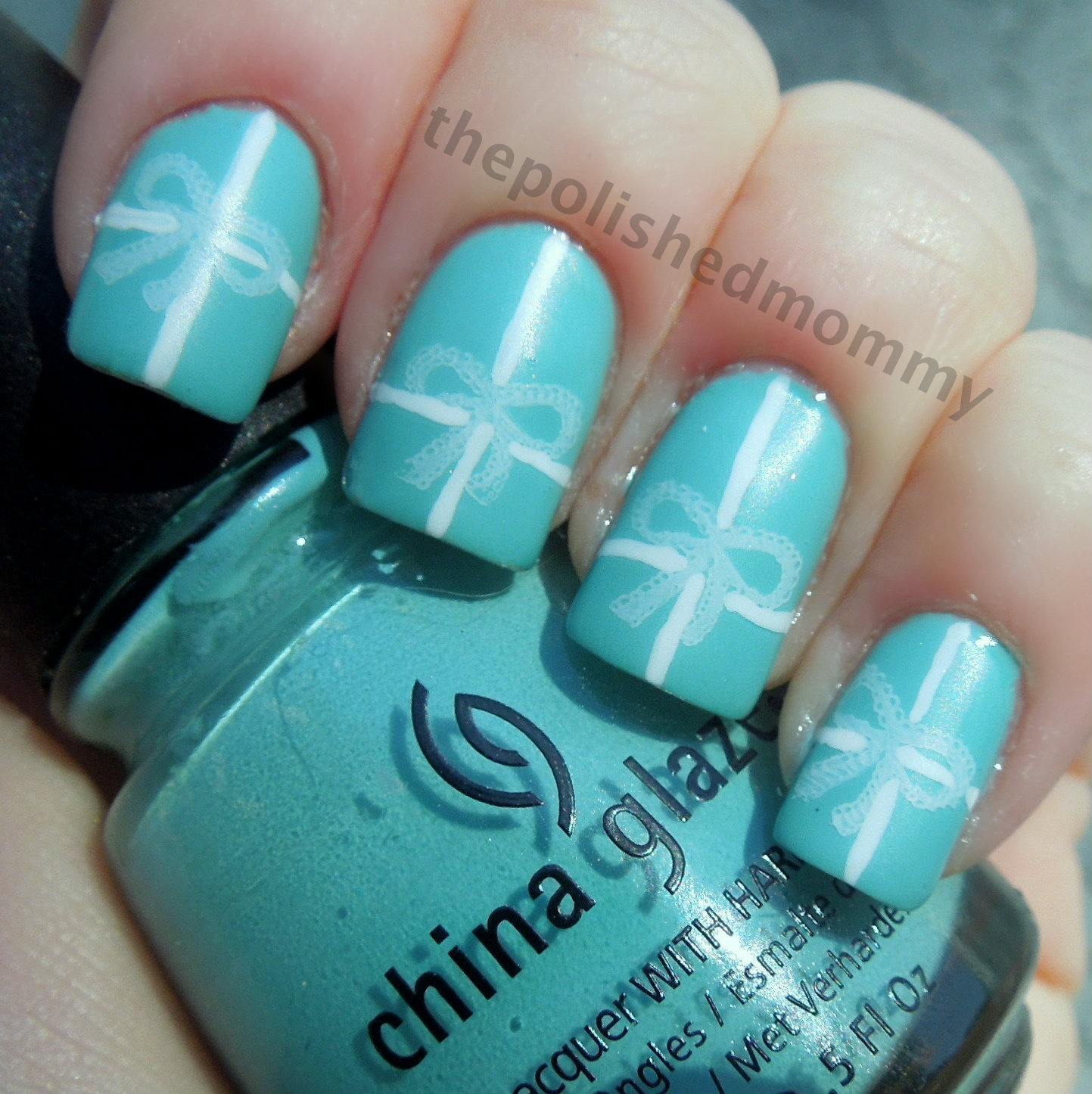 Tiffany Blue Nail Polish China Glaze