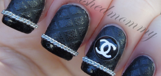 feb nail art french mani kkcenterhk chanel-006