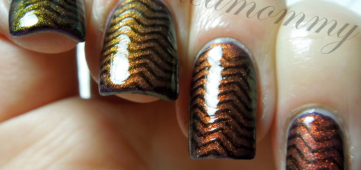 march nail art chevrons-004