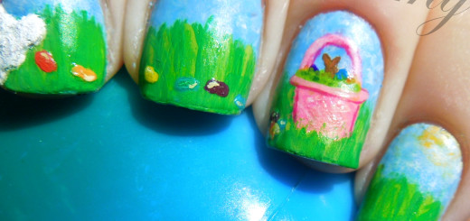 march nail art pastels easter-001