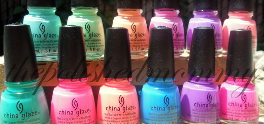 china glaze sunsational