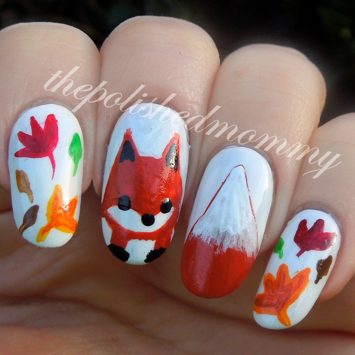 Fox Nail Designs: The Polished Mommy