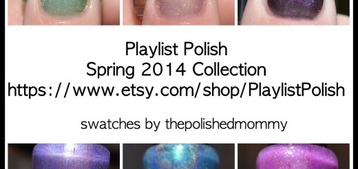 playlist polish spring 2014 collage