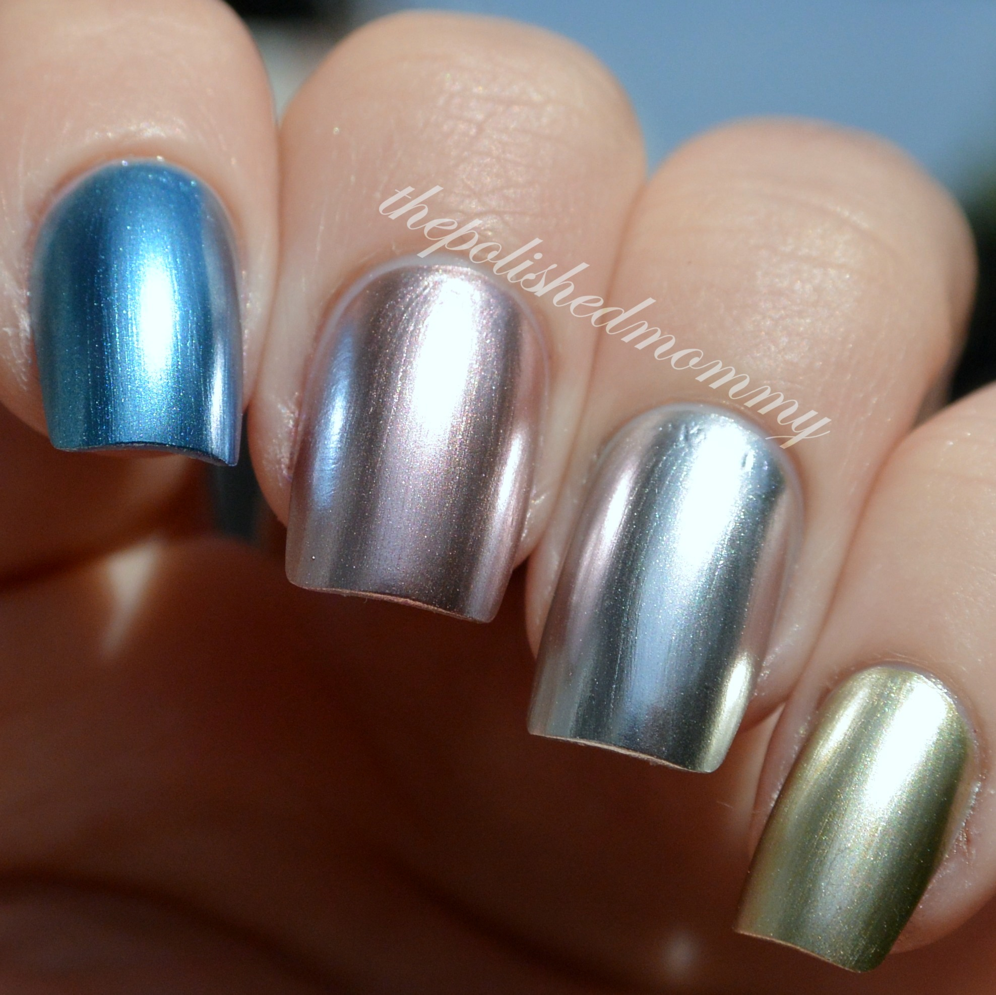 sally hansen color foils - the polished mommy