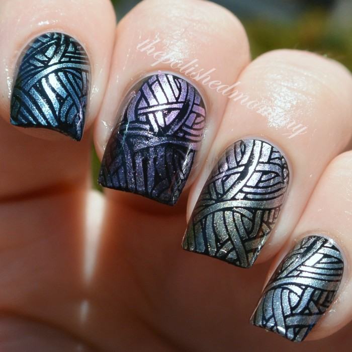 sally hansen color foils stamped