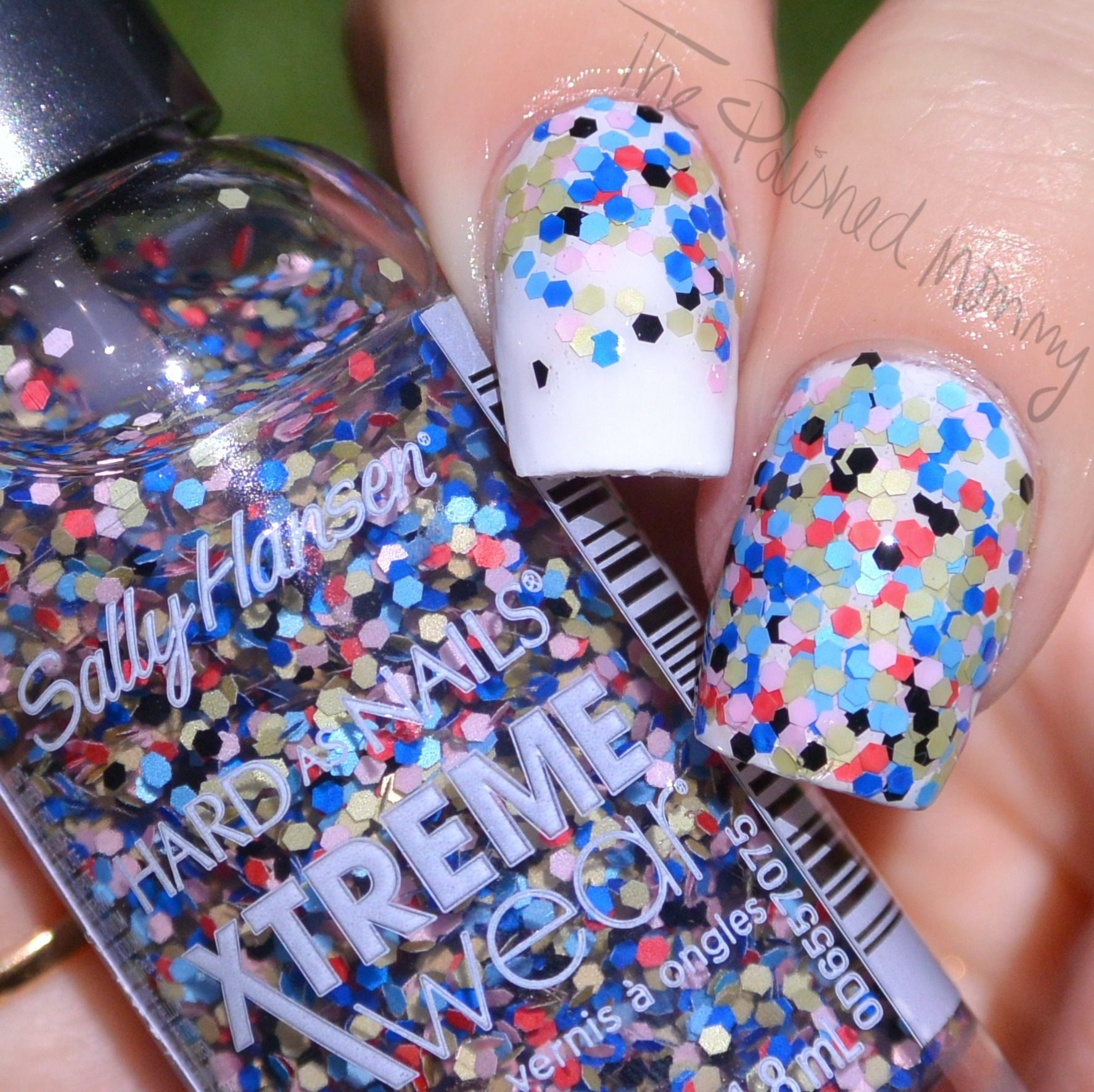 Sally Hansen Xtreme Wear Rio Glitters The Polished Mommy
