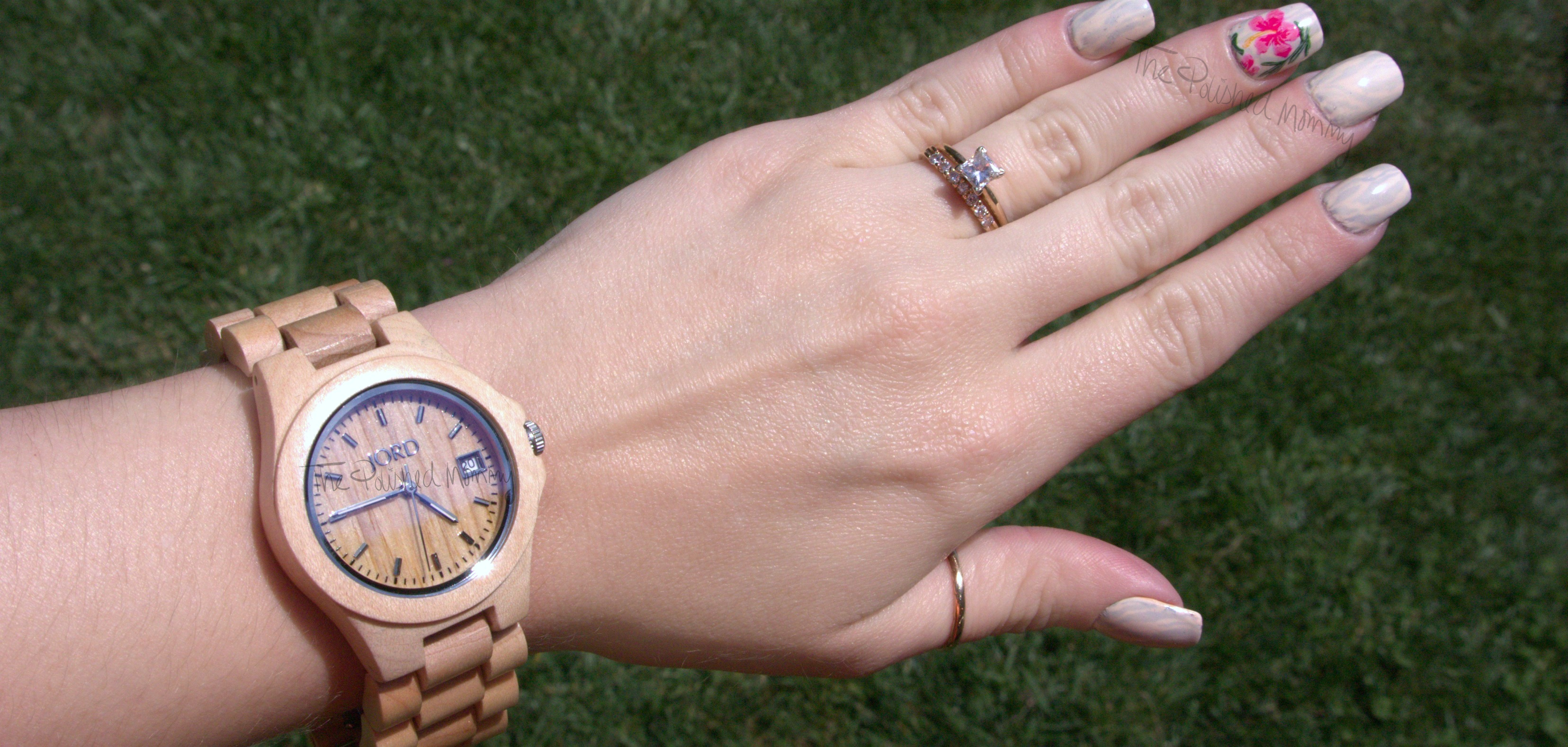 JORD Ely Wooden Watch Nails.... - The Polished Mommy