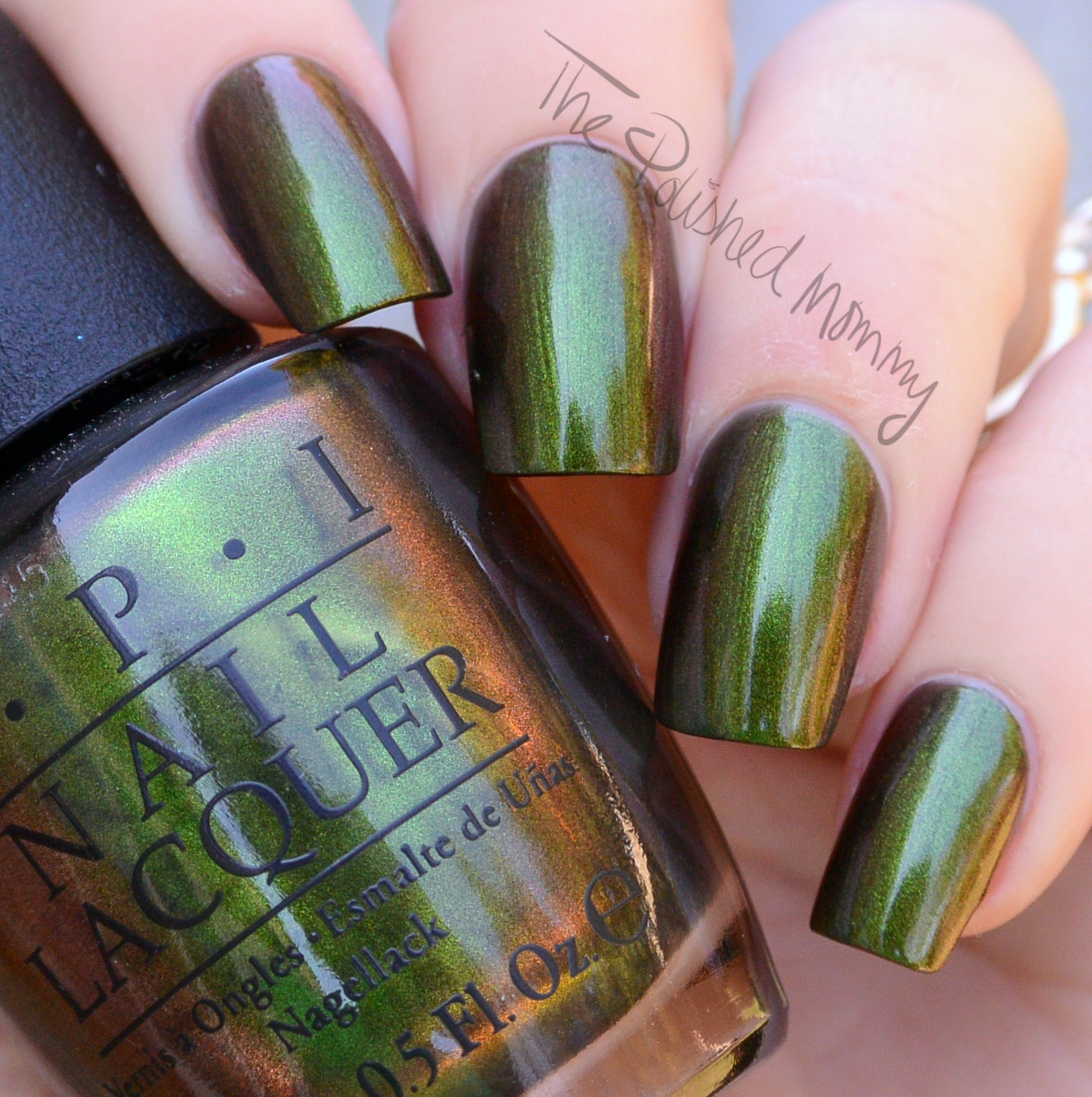 Opi Green On The Runway The Polished Mommy