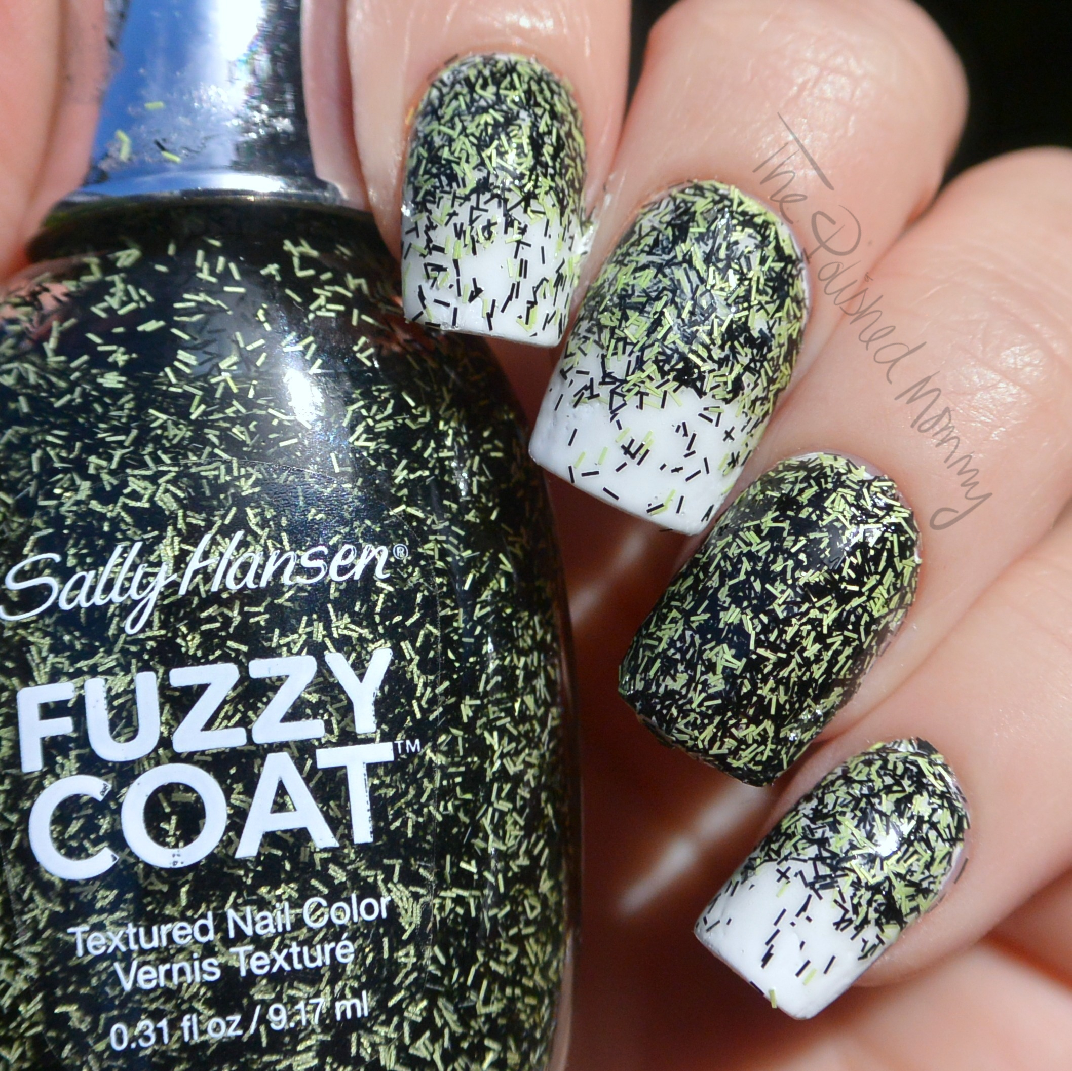 Sally Hansen Halloween 2104: Fuzzy Coat Collection - The Polished Mommy