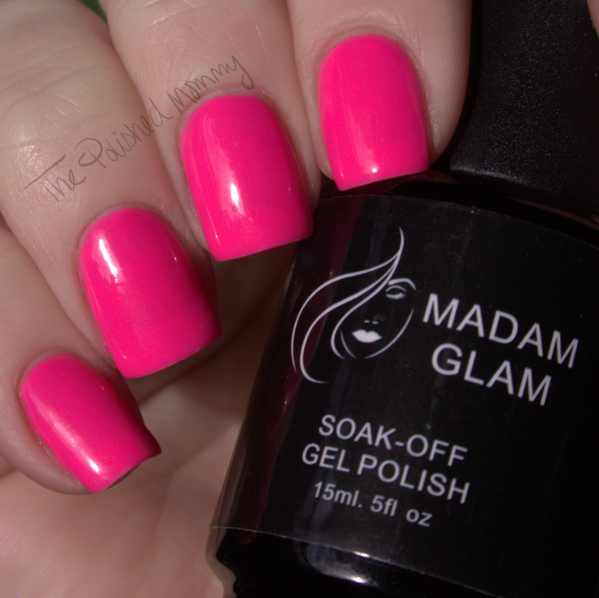 Madam Glam Soak Off Gel Review - The Polished Mommy