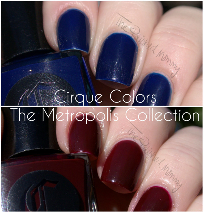 Cirque Colors The Metropolis Collection collage