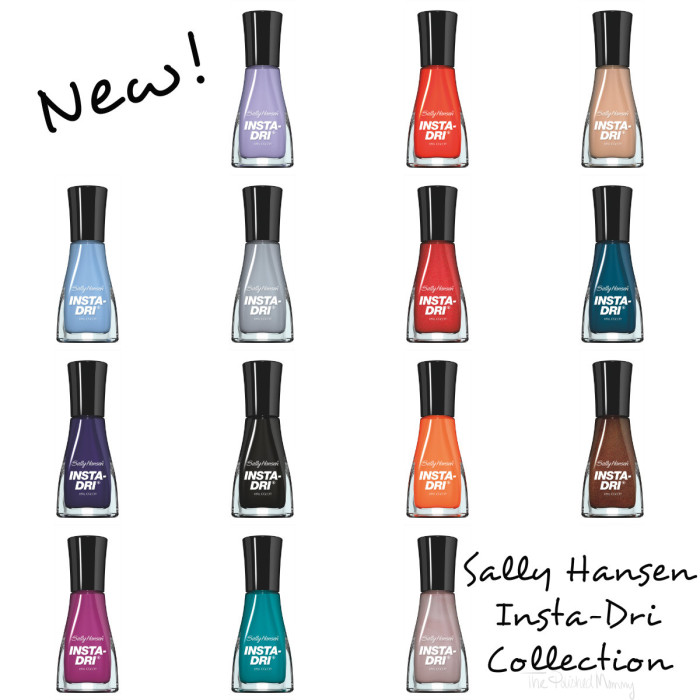 Sally Hansen Insta-Dri collection