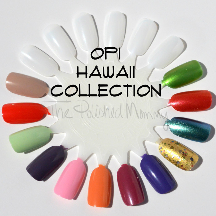 OPI Hawii Collection-008