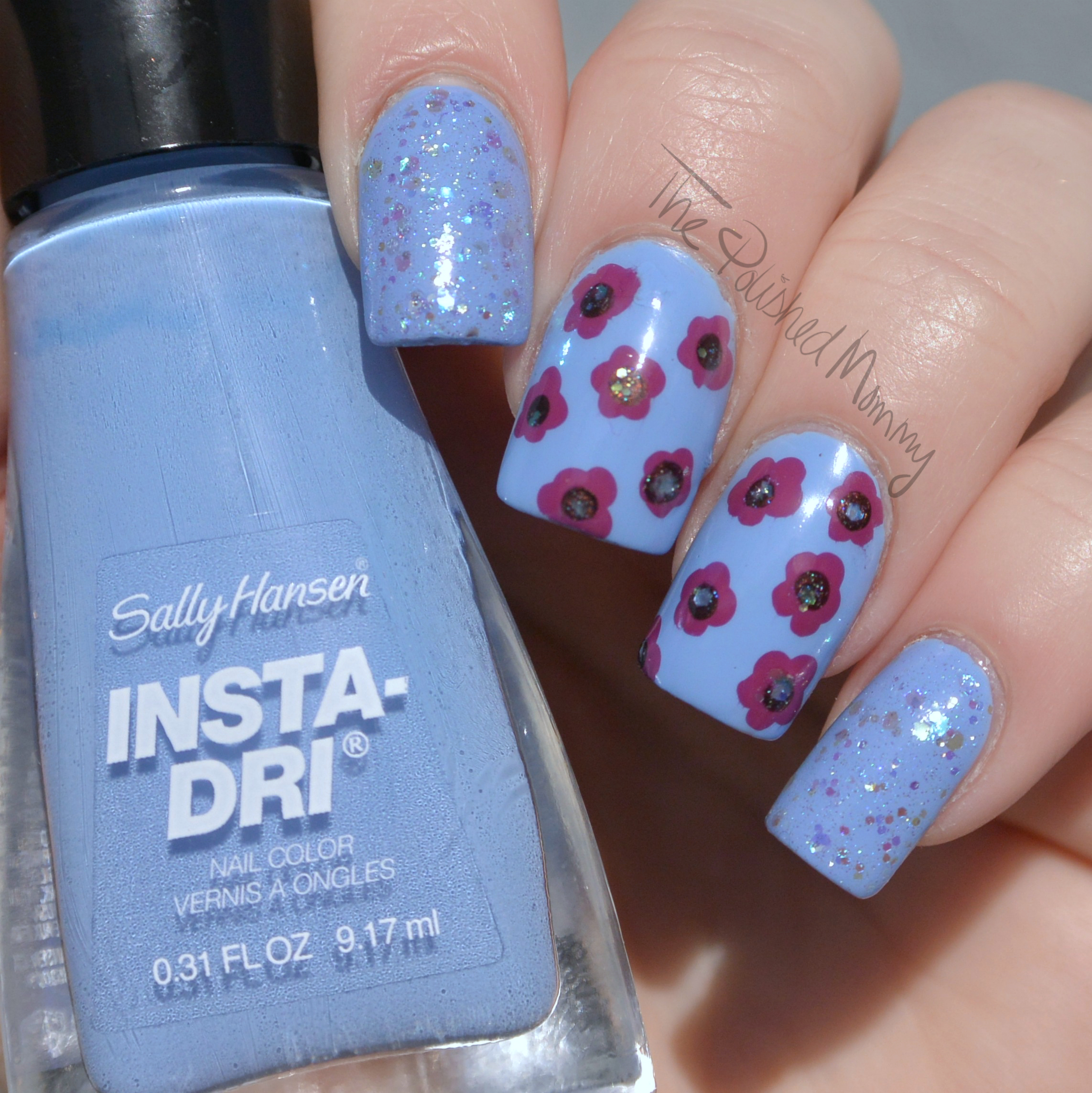 NEW Sally Hansen Insta Dri Colors - The Polished Mommy