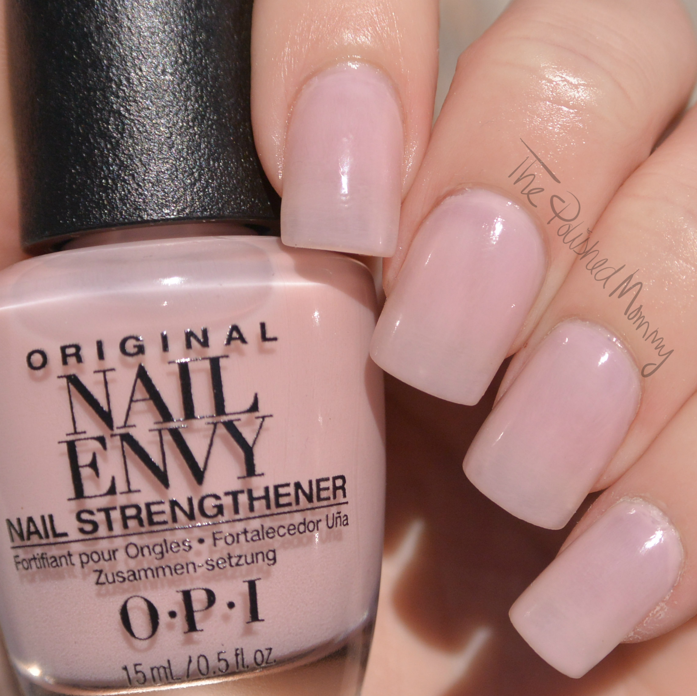 OPI Nail Envy Colors + GIVEAWAY - The Polished Mommy