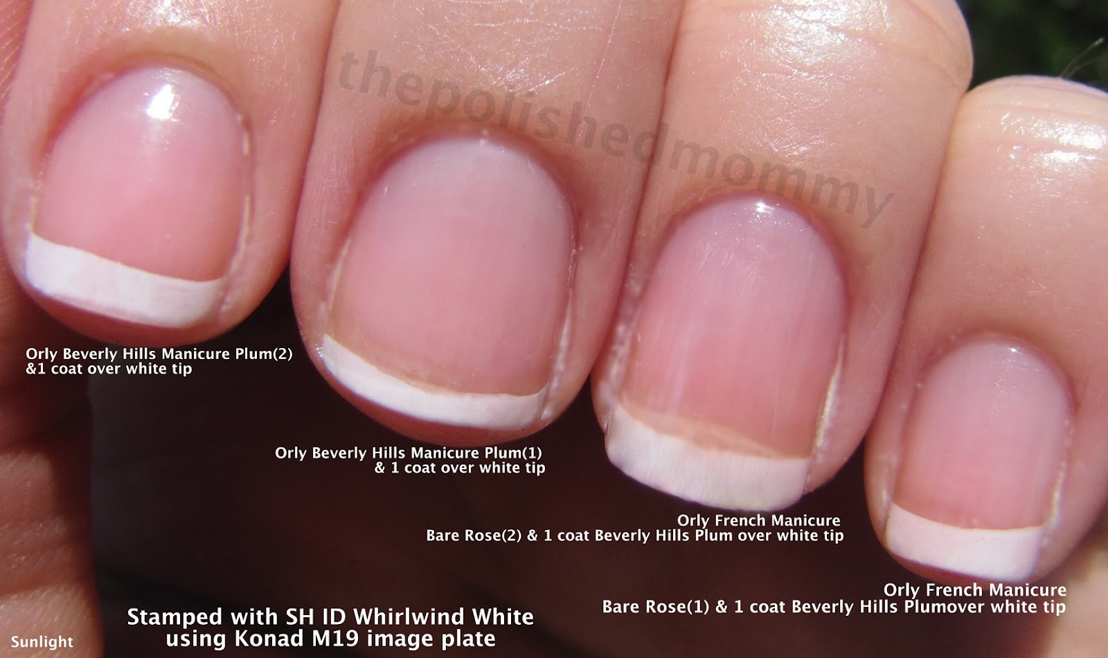 Opi french manicure tutorial