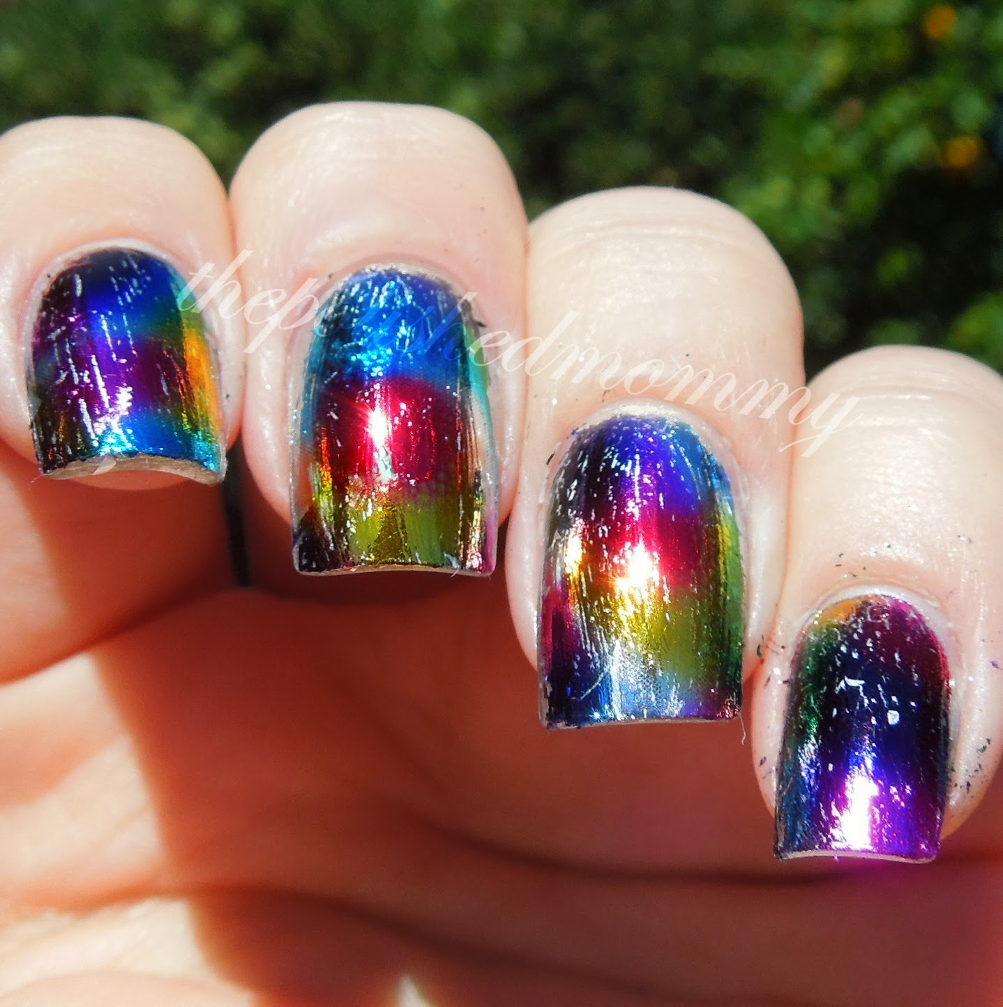 Distressed Rainbow... - The Polished Mommy