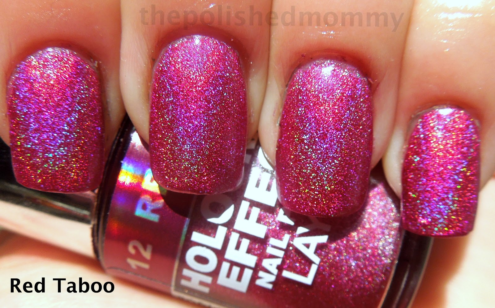 Red Taboo Is A Bright Pink With Purple Undertones