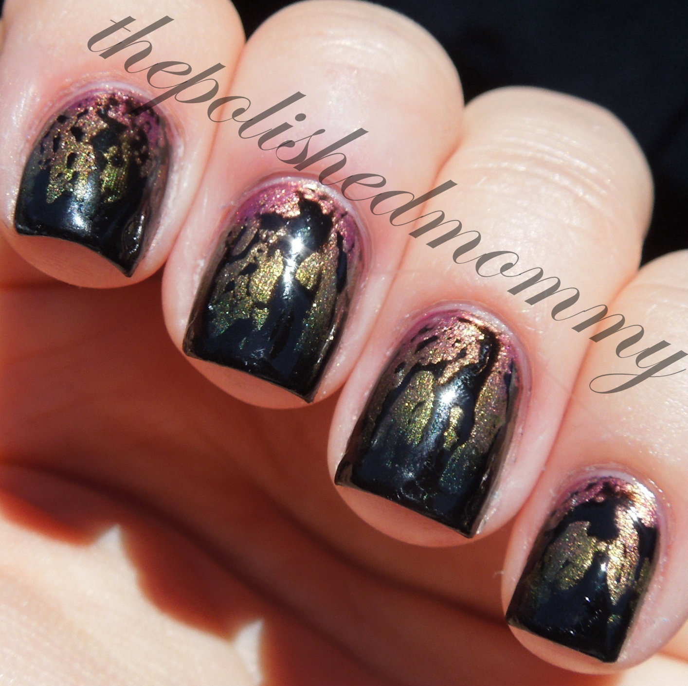 Oil Slick... - The Polished Mommy