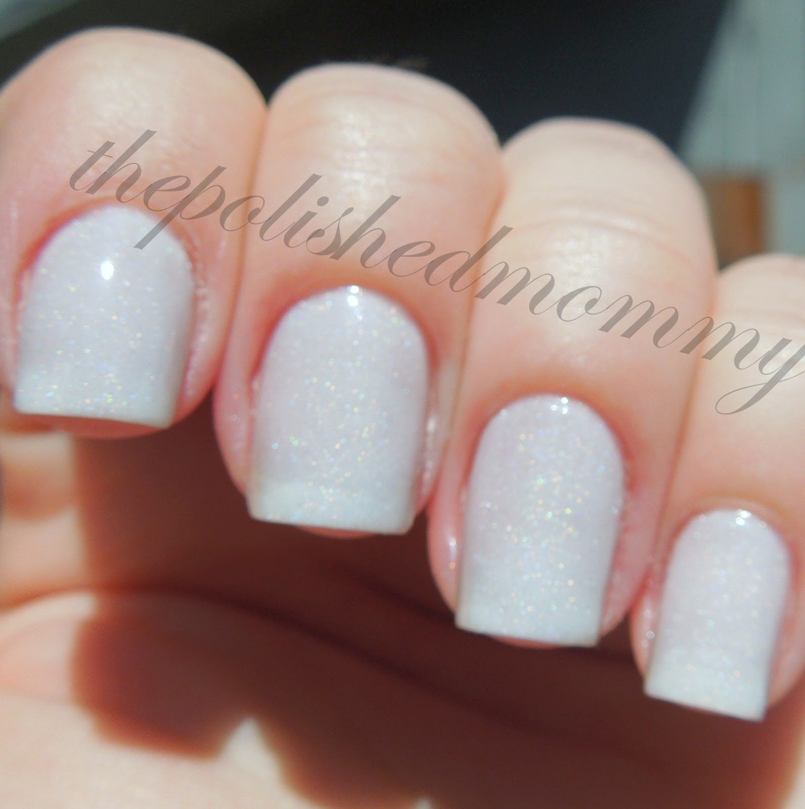 Frost is a Sheer White Holo