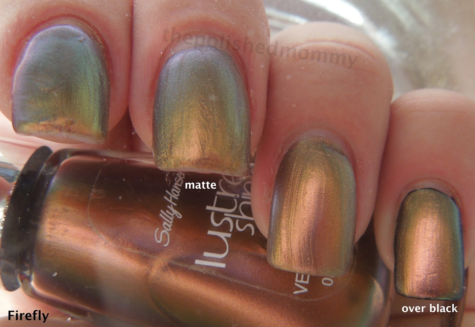 sally hansen lustre shine the polished mommy sally hansen lustre shine