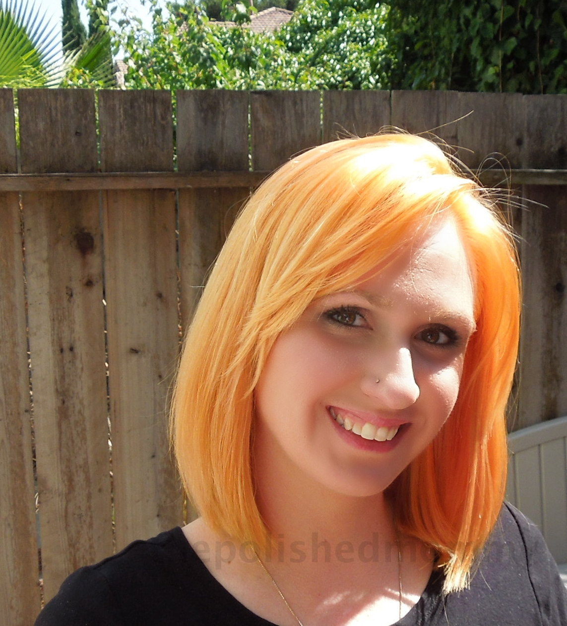 Red Hair With Orange And Blonde Highlights Glam Blonde