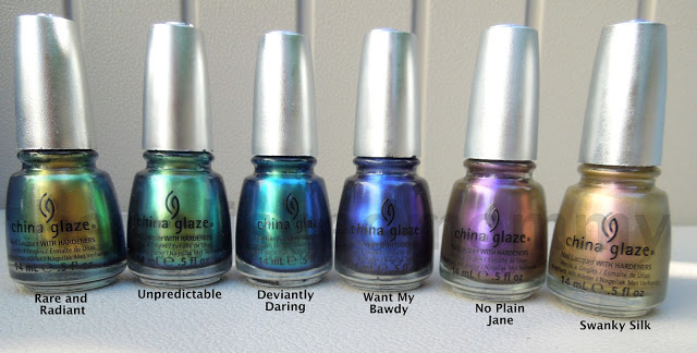 China Glaze Bohemian Collection.... - The Polished Mommy